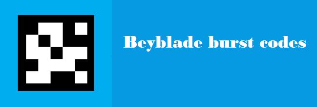 Beyblade Burst Codes 2019