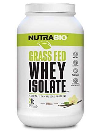 NutraBio Grass Fed Sascha Protein