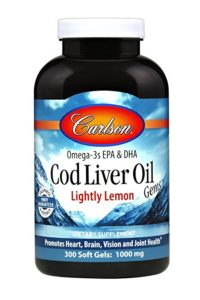 Carlson Cod Liver Oil Softgels 2019